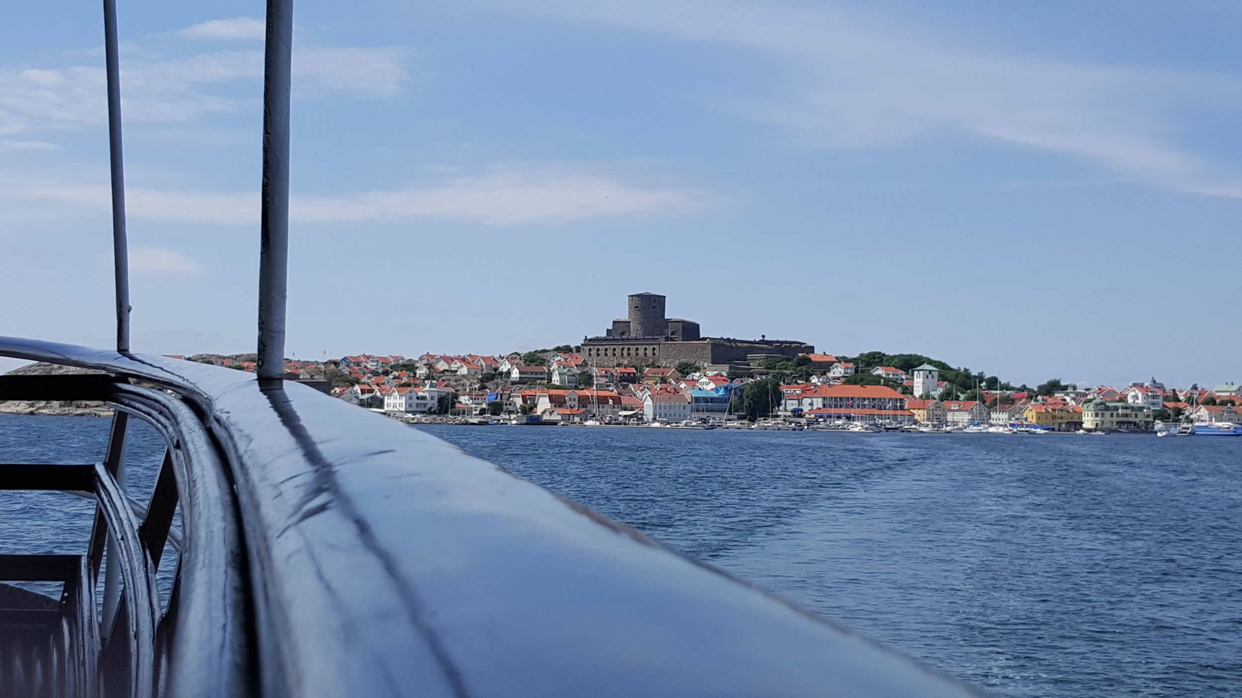 Marstrand via Öckerö